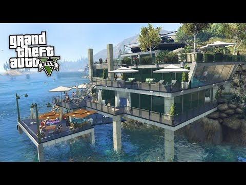 GTA 5 Mods - BILLIONAIRES MANSIONS MOD TOUR #2!! GTA 5 Mansions Mod Gameplay! (GTA 5 Mods Gameplay)