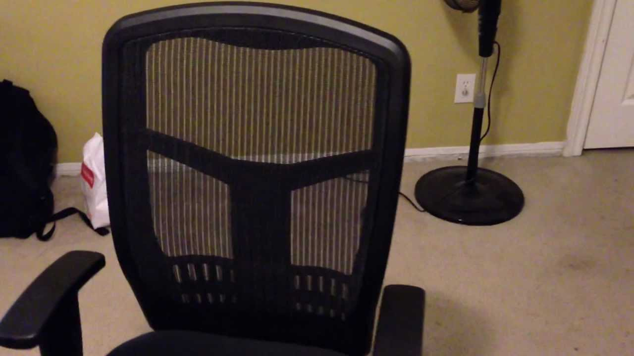 Superb Lorell Executive High Back Chair, Mesh Fabric   YouTube