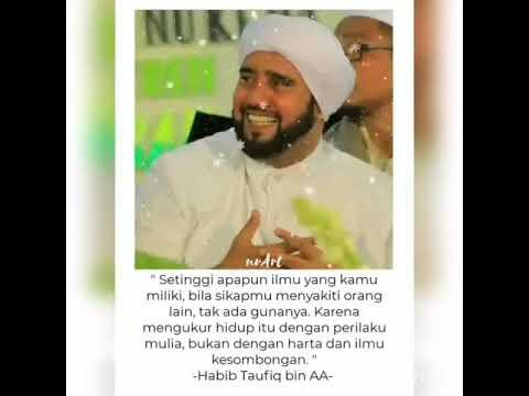 Kata mutiara Habib Taufiq - YouTube