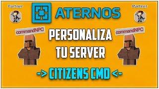 ATERNOS !! Crea y Configura CITIZENSCMD - Personaliza Tu Server [2018][Full]   Español