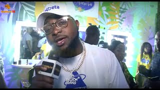 Davido attends Daughter Imades hair product launch
