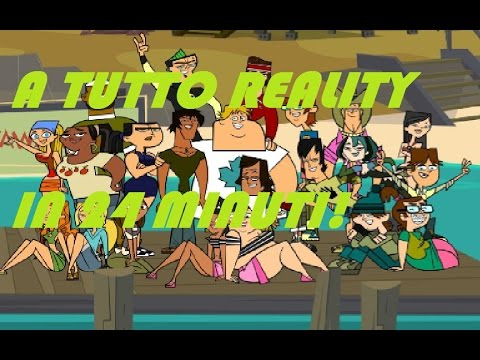 Total Drama/A Tutto Reality (Stagioni 1-3) in 24,10 minuti