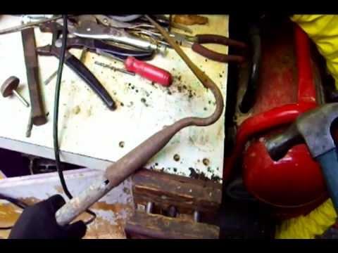Replacing Garden Tool Handles ( Garden Hoe )   YouTube