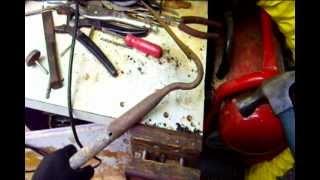 Replacing Garden Tool Handles ( Garden Hoe )
