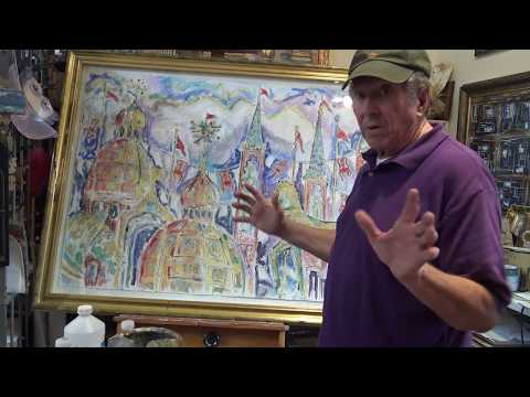 Stilton Paintings and Poems of Paris and Venice: Behind the Scenes