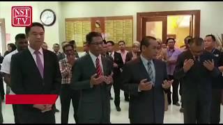 Aminuddin clocks in as Negri's Menteri Besar