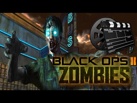 ZOMBIES TOWN SURVIVAL: THE MOVIE (Call Of Duty: Black Ops 2) w/Kenny & Friends!