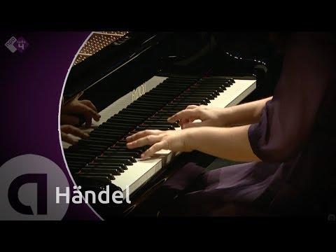 Händel: Keyboard Suite HWV 428 - Daria van den Bercken, piano - Live Concert - HD