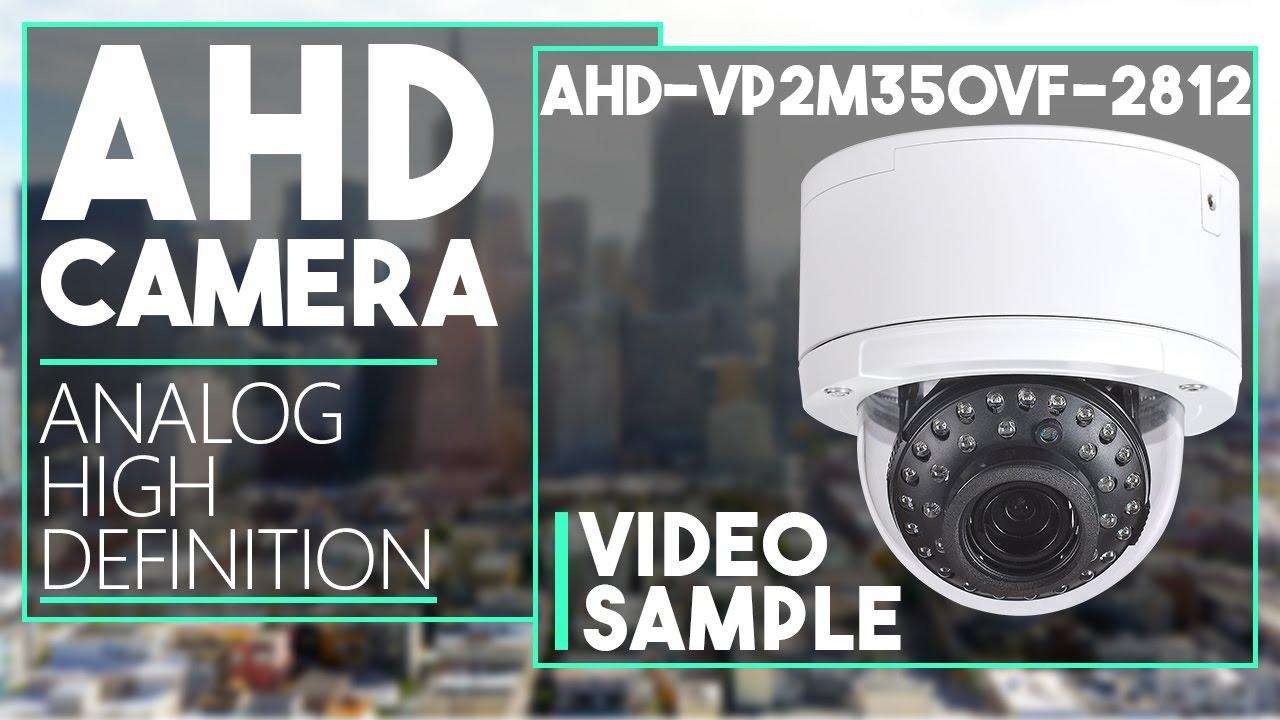 AHD-VP2M350VF-2812 - 2.4MP AHD Vandal Dome Camera Day & Night ...