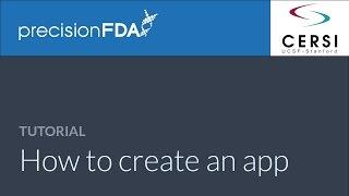 precisionFDA - Hoe maak je een app