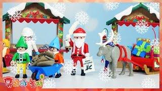 [유라] 장난감(toy)_플레이모빌 캘린더 크리스마스 이브 산타 선물 playmobil Adventskalender Christmas santa claus