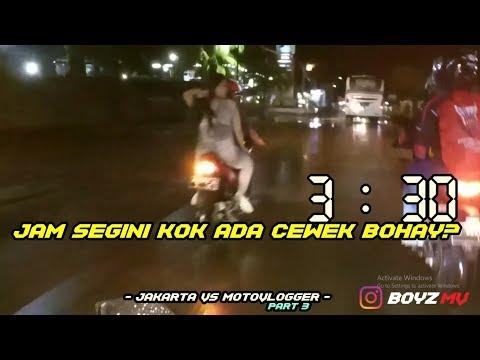 SITU CEWEK NAKAL BUKAN? / - JAKARTA VS MOTOVLOGGER - PART 3