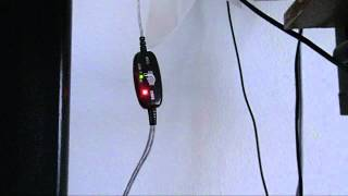 Logilink MIDI to USB interface test