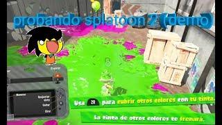 Probando splatoon 2 (demo)
