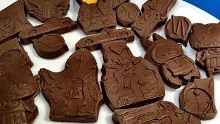 立体ジバニャン・USAピョン♪ 仮面ライダーゴースト&ドライブ&妖怪ウォッチ グミの型でチョコレートつくってみた! thumbnail