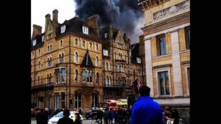 Oxford in Shock as Randolph Hotel Fire Burns!