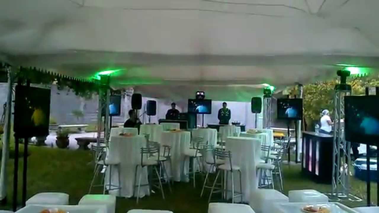 Renta de carpas para 15 a os en monterrey fiestas bodas for Bodas en jardin en monterrey