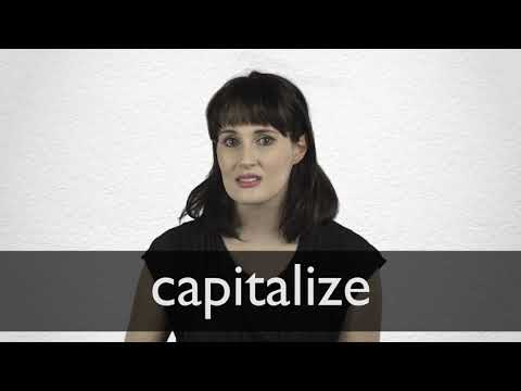 capitalize definition accounting