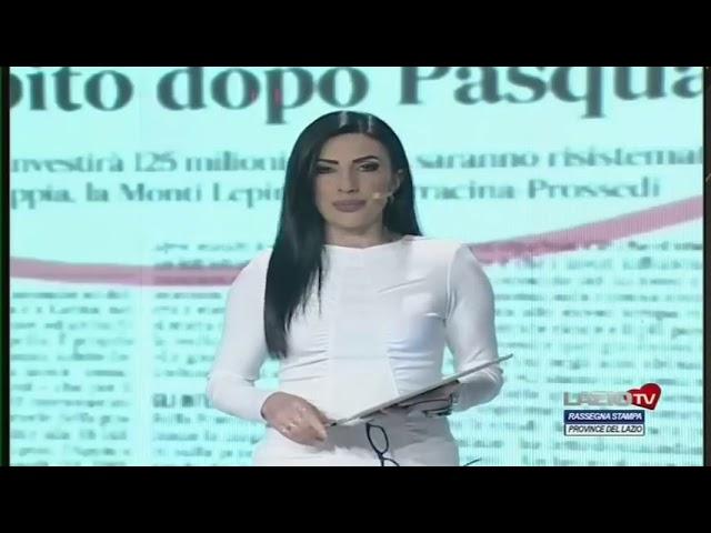 RASSEGNA STAMPA PROVINCE DEL LAZIO del 05.03.2021