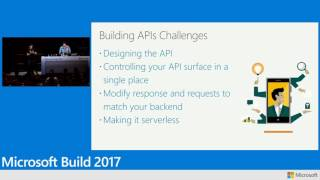 How to build business applications with Azure Functions and Logic Apps for PowerApps - Build 2017