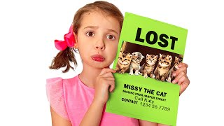 Katy and her 5 lost kittens