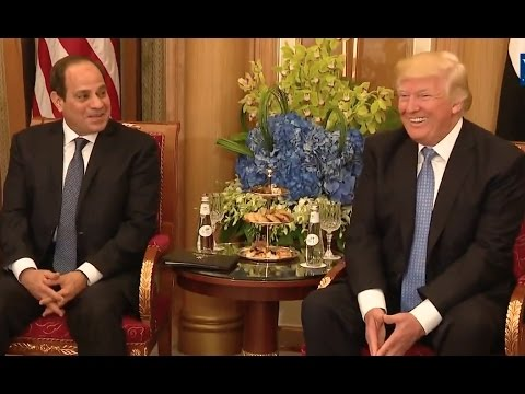 "Egypt's President: Trump Capable Of ""Doing The Impossible"""