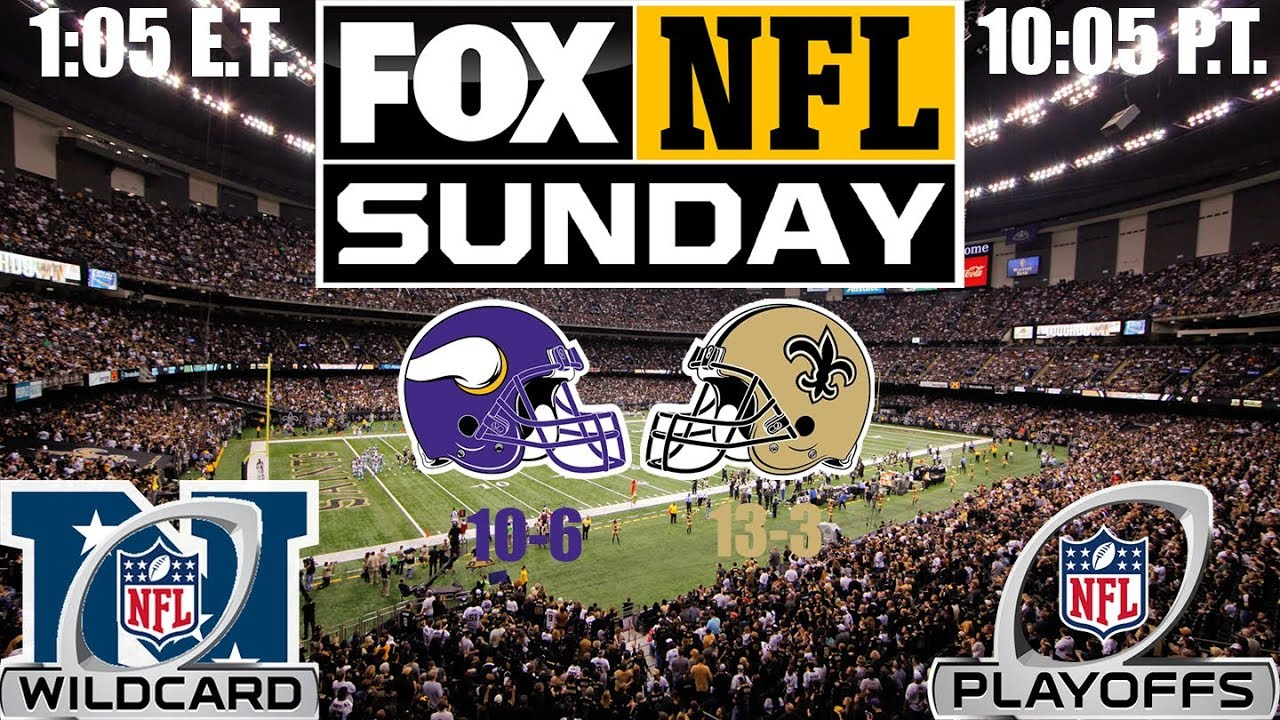 Vikings vs. Saints Pregame Report - Wild Card Weekend