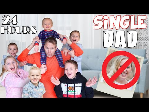 FATHER'S WORST NIGHTMARE: 24 Hours with 6 Kids and NO MOM Challenge