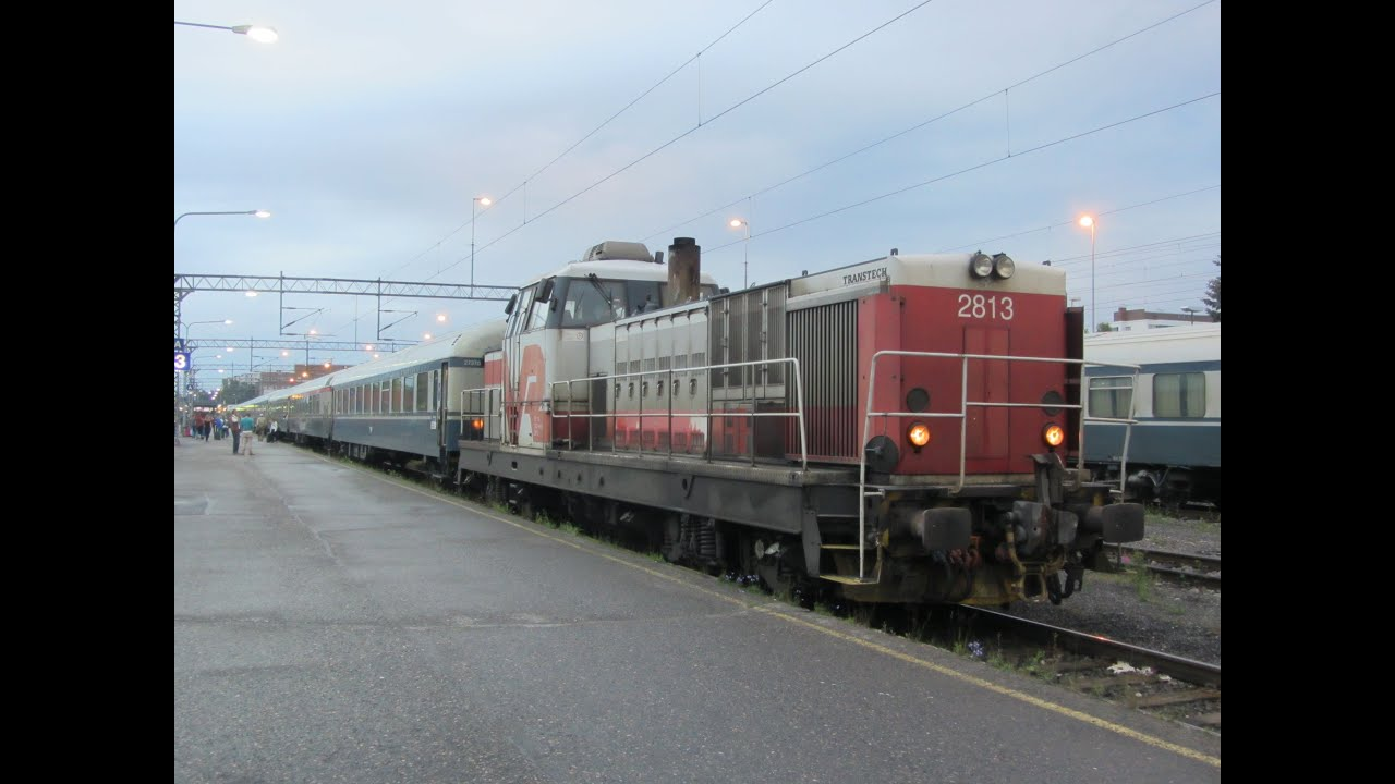 Finnish Car Train Helsinki - Kolari (Lapland) -