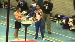Jeffrey Wammes, Turnen, EK Kwalificatie 2008