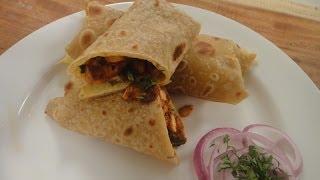 Spicy Chicken Roll | Sanjeev Kapoor Khazana