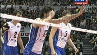 Волейбол Кубок мира 2011(Япония): Россия - Италия (20.11.2011)