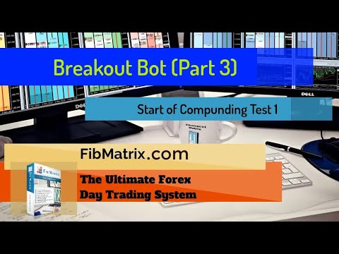 Breakout Bot (Part 3) COMPOUNDING Test 1 Automated Forex Trading Software Performance Results