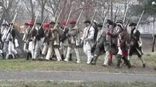 Battle Of Trenton Reenactment 12-26-2010 Part 3: Mill Hill Park