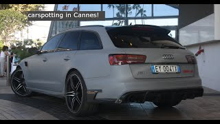 Nice cars in Cannes!! - carspotting #1