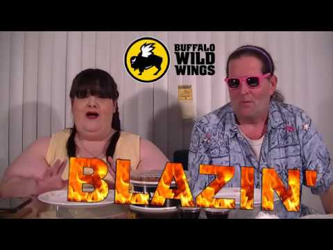 Buffalo Wild Wings - Blazin' Hot Wings Challenge with Hungry Hippy