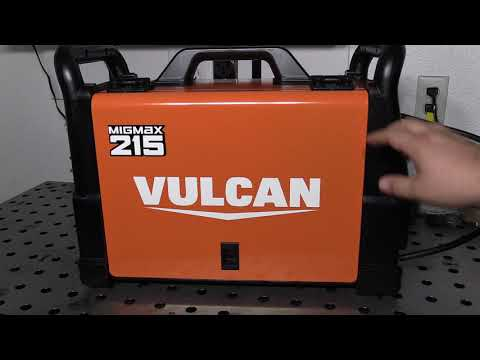 Harbor Freight Vulcan MIGMAX 215:  Review Pt 1