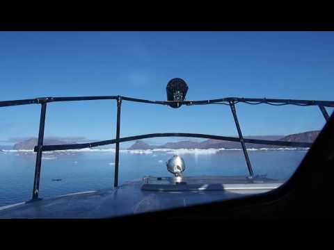 Navigation entre Upernavik et Nuussuaq (Groenland)