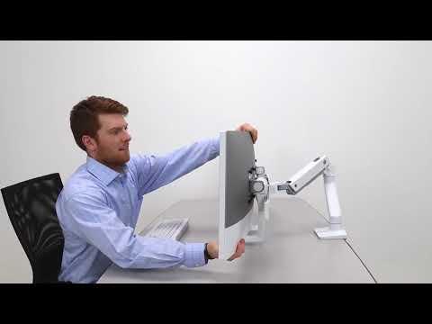 Ergotron HX Monitor Arm Available At Ergonomic Essentials