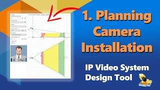 How To Design Video Surveillance System Part 3 Site Plan And Camera Positions Youtube