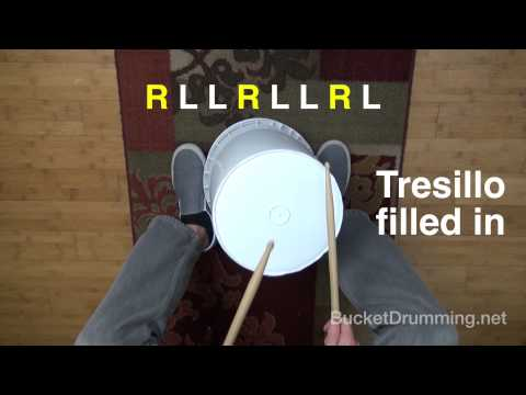 Top 10 Bucket Drumming Beats of ALL Time #5/10 (plus variations)