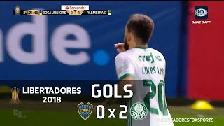 Boca Juniors (ARG) 0 x 2 Palmeiras - Libertadores 2018 - Fox Sports HD