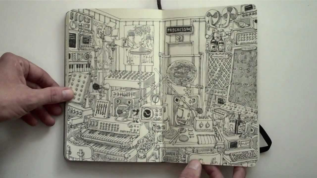 Moleskine sketchbook 1...
