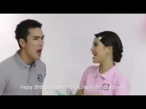 Happy birthday thai  song by yaya nadech kim mark