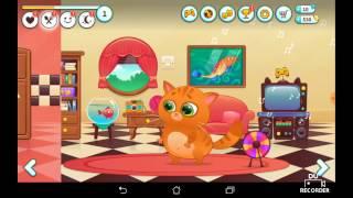 Обзор игры Кот  - смотреть бесплатно интересное видео для детей. Мультфильм игра : Кот Мурзик