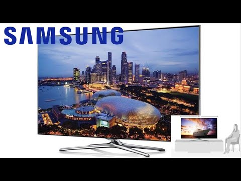 "Samsung 55"" 3D LED Smart TV Review"