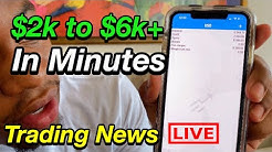 📈 Trading Forex News (NZD) Live: PMG Turning $2k to $6k+ in Minutes ! 💰