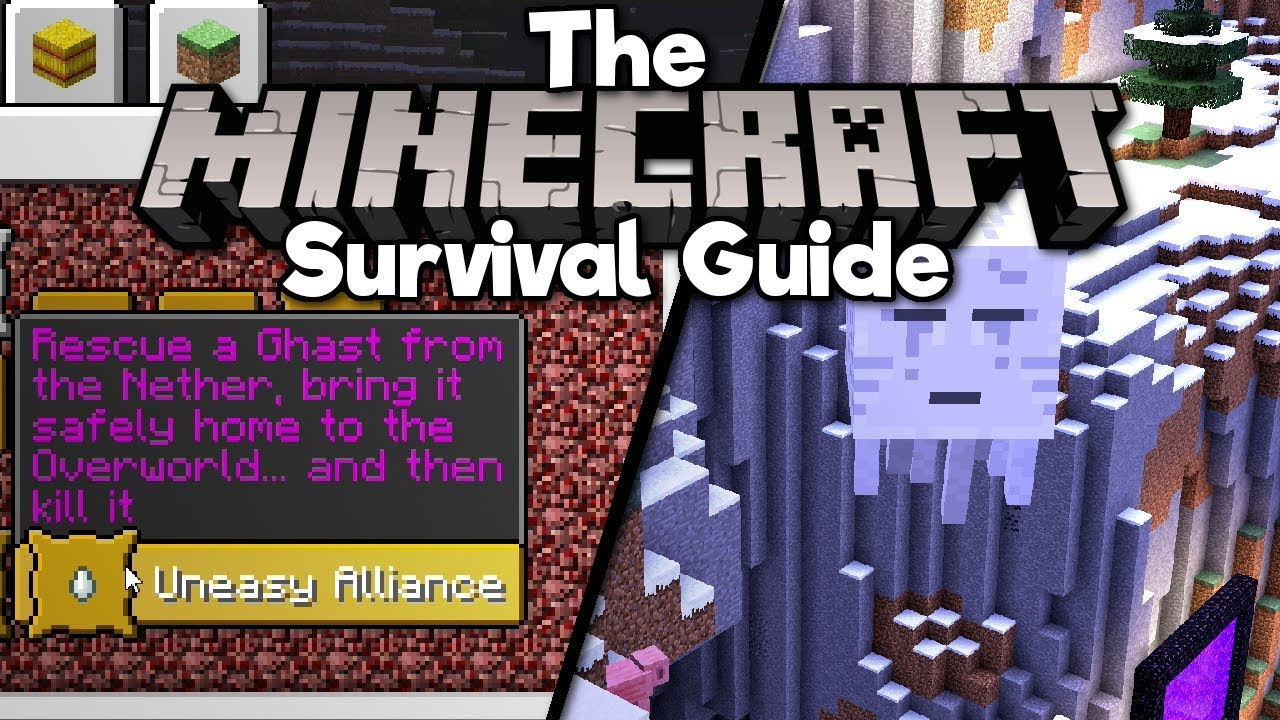 Bringing Ghasts To The Overworld! ▫ The Minecraft Survival Guide (Tutorial Lets Play) [Part 109]