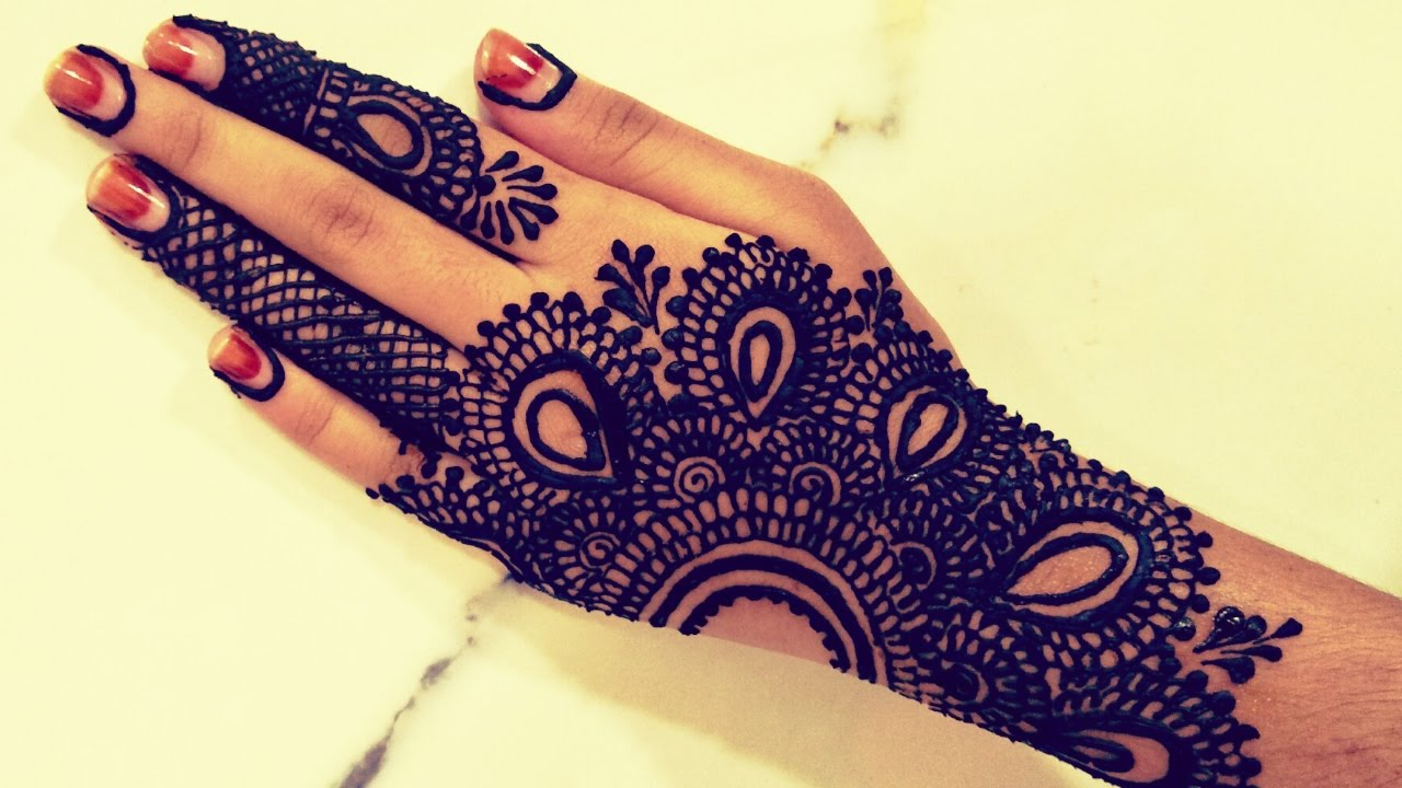 Henna Tattoos For Beginners: Stylish Simple Easy Mehndi Henna Designs