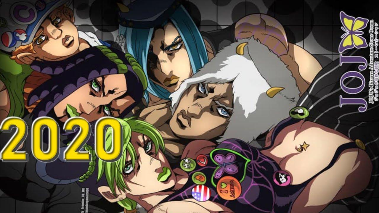 Stone Ocean Anime Jojo S Bizarre Adventure Part 6 Youtube